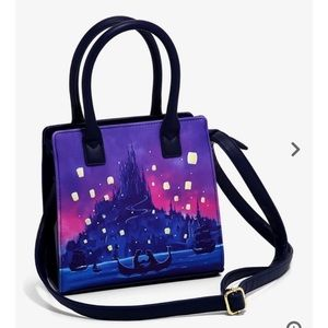 LOUNGEFLY DISNEY tangled lanterns mini satchel